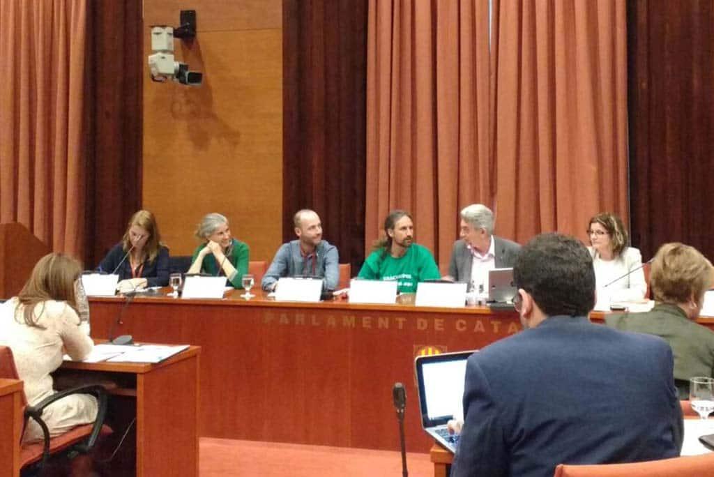 Educació viva al parlament de catalunya