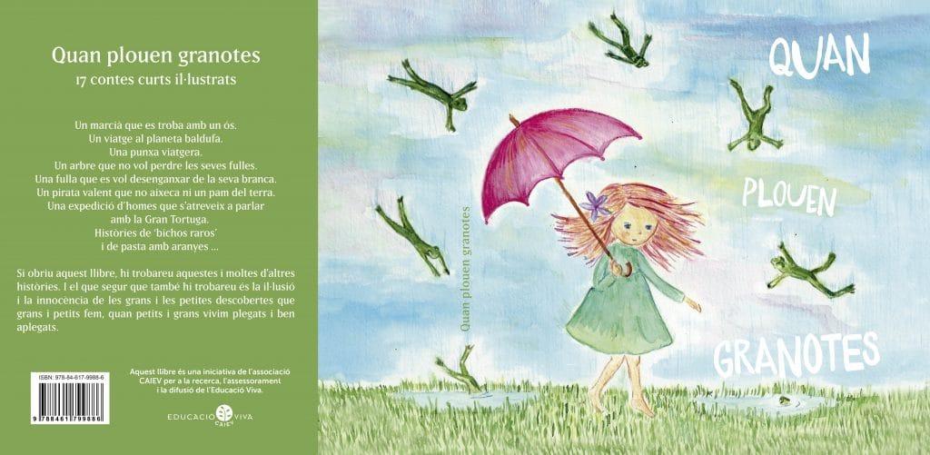 CAIEV, Educació Viva, Educación viva, cuentos, quan plouen granotes